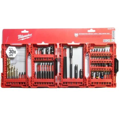 Milwaukee 48-32-4017 SHOCKWAVE™ 55-Piece Impact Duty Drill and Driver Bit Set