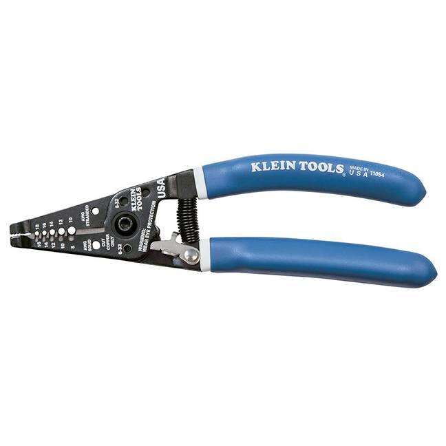 Klein 11054 Wire Stripper / Cutter with Closing Lock