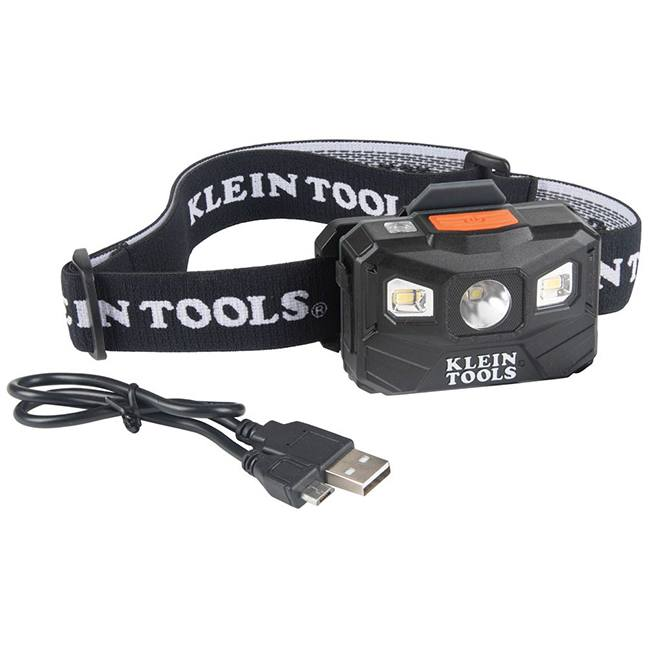 Klein 56048 Rechargeable Headlamp 400 Lumen All-Day Runtime