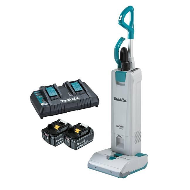 Makita DVC560PT2 18Vx2 Brushless Upright Vacuum Cleaner Kit