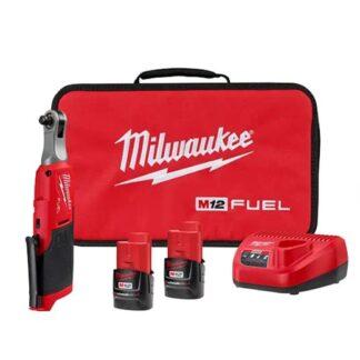 "Milwaukee 2567-22 M12 FUEL 3/8"" High Speed Ratchet Kit"