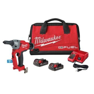"""Milwaukee 2660-22CT M18 FUEL 1/4"""" Blind Rivet Tool Kit with ONE-KEY"""