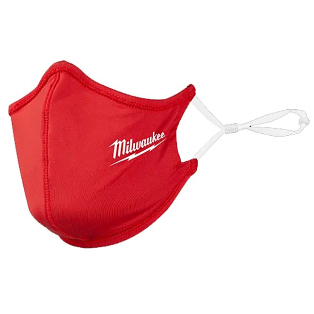 Milwaukee 48-73-4228 2-Layer Face Mask - Red 3pk