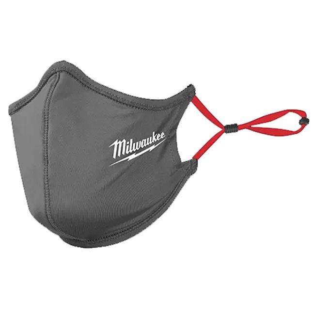 Milwaukee 48-73-4232 2-Layer Face Mask - Grey 10pk
