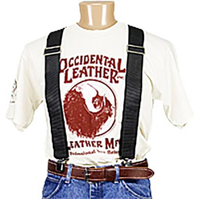 Occidental Leather 9020B Oxy™ Nylon Suspenders - Black