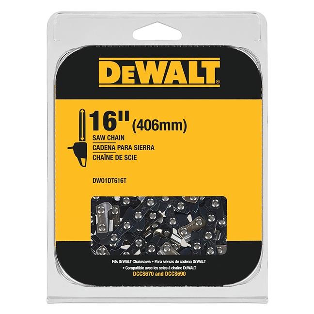 "DeWalt DWO1DT616T 16"" Chainsaw Replacement Chain"