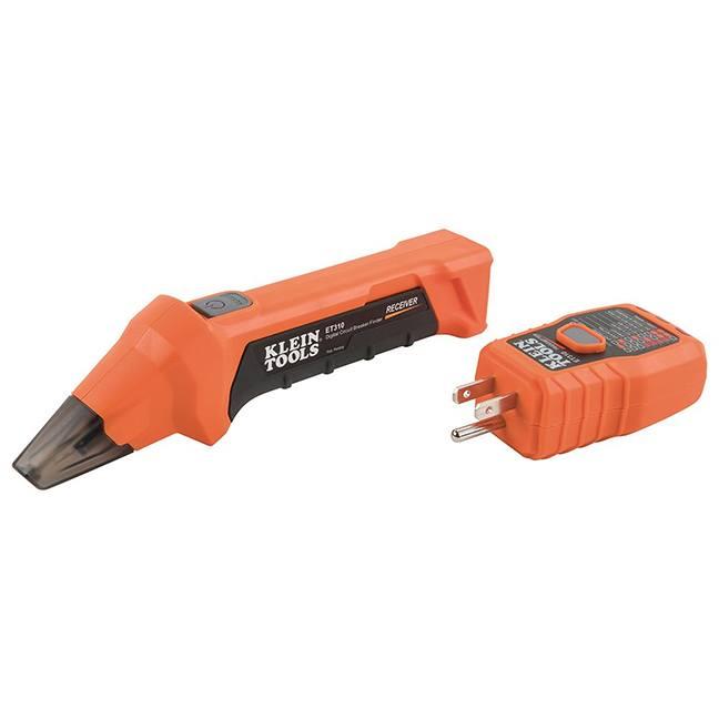 Klein ET310 Digital Circuit Breaker Finder with GFCI Outlet Tester
