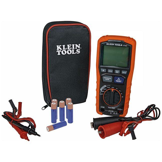 Klein ET600 Insulation Resistance Tester