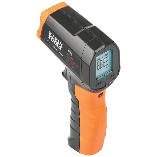 Klein IR1 Infrared Digital Thermometer with Targeting Laser 10:1