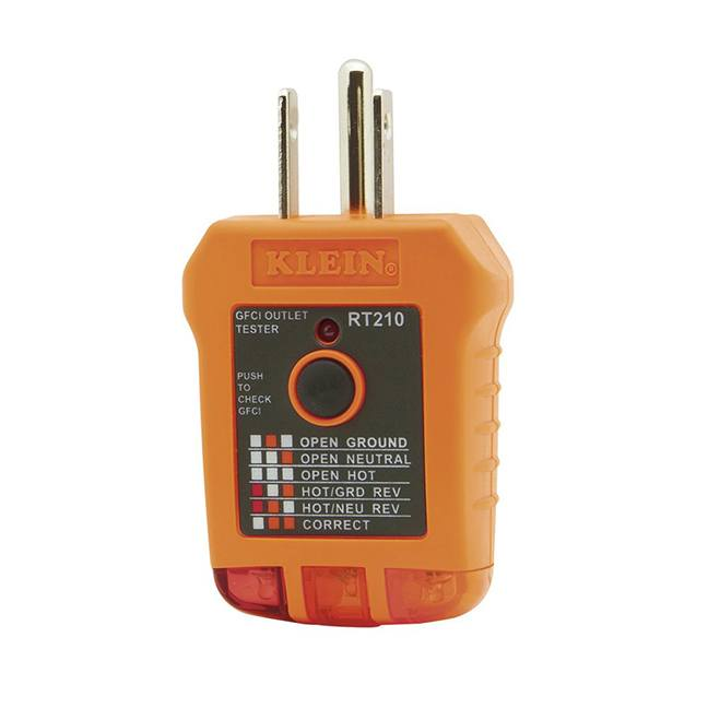 Klein RT210 GFCI Outlet Tester
