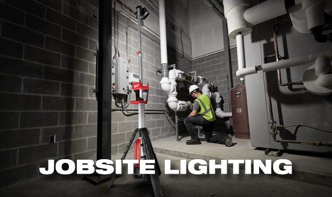 Milwaukee Tools Jobsite Lighting