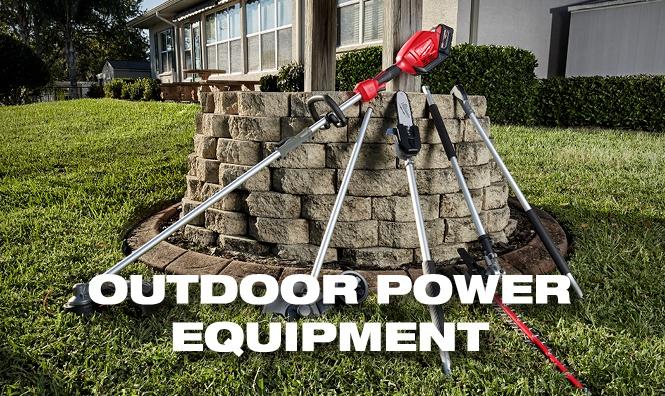 Milwaukee Tools Outdoor Equipment