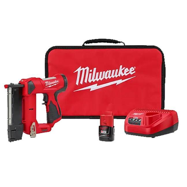 Milwaukee 2540-21 M12 23 Gauge Pin Nailer Kit