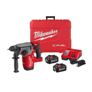 """Milwaukee 2912-22 M18 FUEL 1"""" SDS Plus Rotary Hammer Kit"""