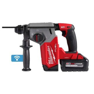 """Milwaukee 2914-22DE M18 FUEL 1"""" SDS Plus Rotary Hammer with ONE-KEY Dust Extractor Kit"""