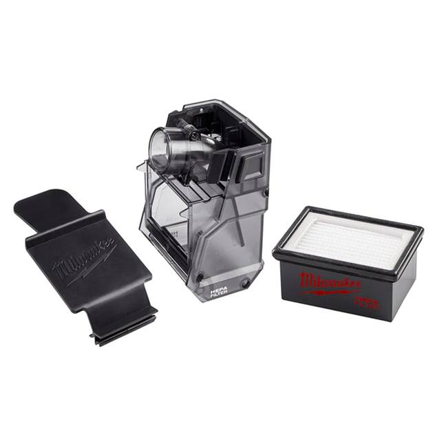 Milwaukee 49-90-2344 M18 FUEL HAMMERVAC Accessory Dust Box, Filter, and Lid