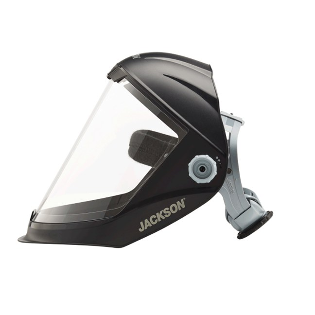 Surewerx 14200 MAXVIEW™ Jackson 370 Speed Dial™ Premium Ratcheting Face Shield - Uncoated