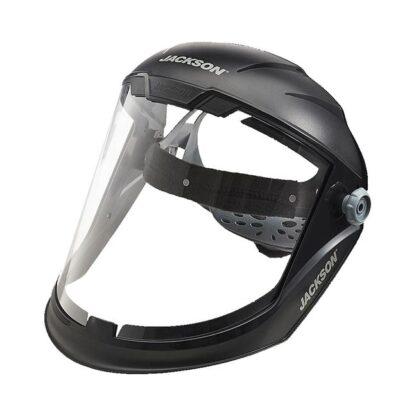 SureWerx 14201 MAXVIEW™ Jackson 370 Speed Dial™ Premium Ratcheting Face Shield - Anti-fog