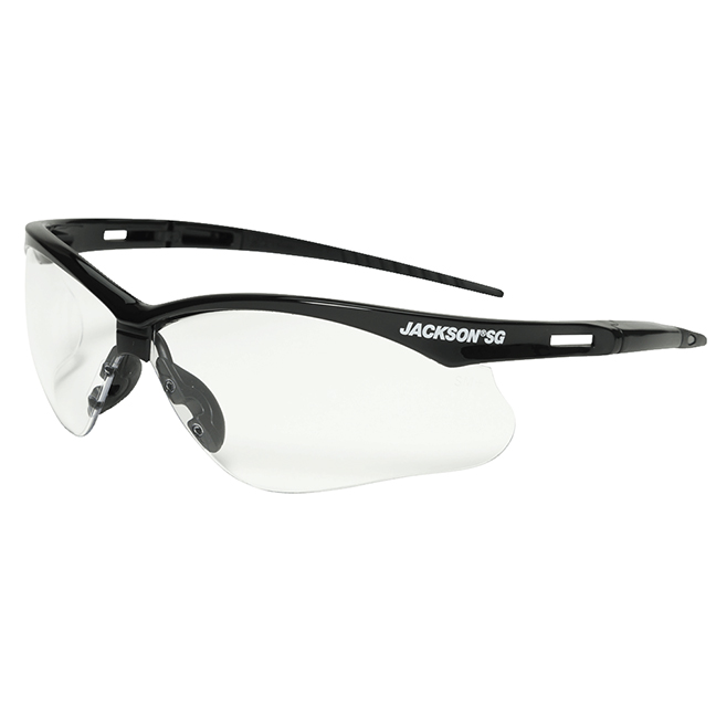 Jackson 50000 SG Series Premium Safety Glasses - Anti-Scratch / Clear