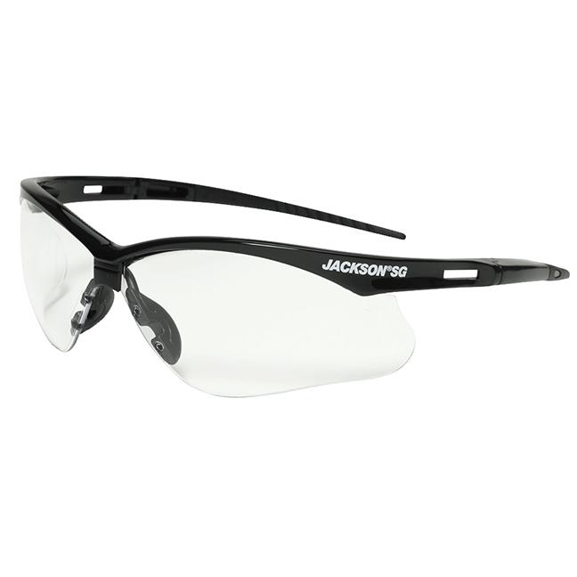 SureWerx 50000 Jackson® SG Series Premium Safety Glasses - Anti-Scratch / Clear
