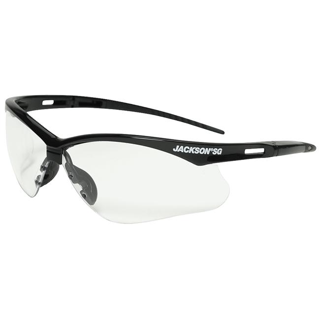 Jackson 50001 SG Series Premium Safety Glasses - Anti-Fog / Clear