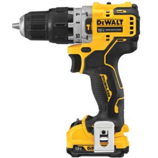 "DeWalt DCD706F2 12V MAX XTREME 3/8"" Hammer Drill Kit with 2.0Ah Batteries"