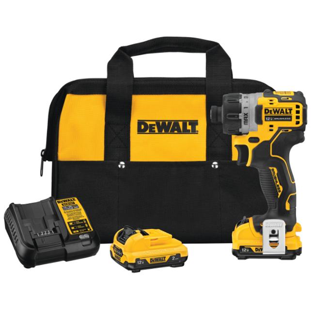 DeWalt DCF601F2 12V MAX XTREME Screwdriver Kit with 2.0Ah Batteries