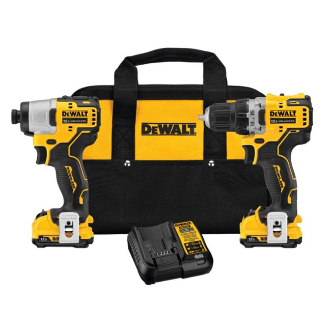 DeWalt DCK221F2 12V MAX XTREME Drill Driver / Impact Driver Kit