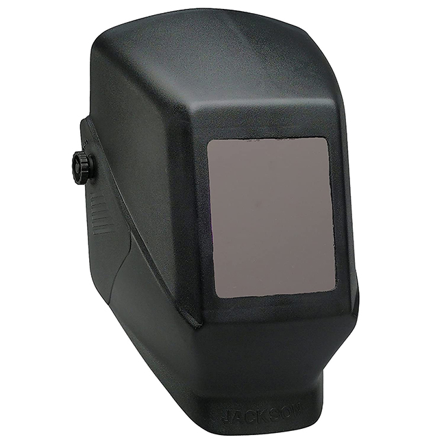 "Jackson 14975 W10 HSL-100 Passive Welding Helmet Black  - Fixed Shade 4.5"" X 5.25"""