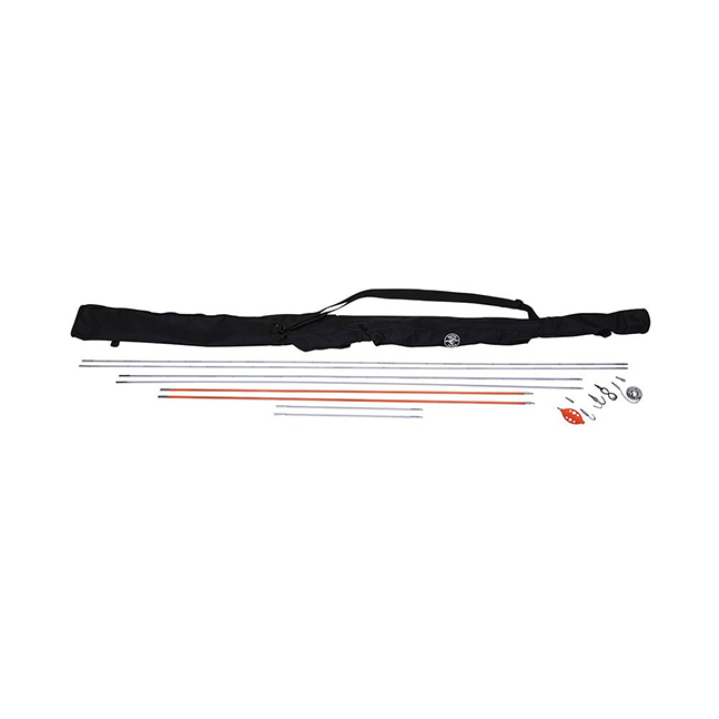 Klein 56400 Splinter Guard Fish and Glow Rod Kit with Bag 33ft