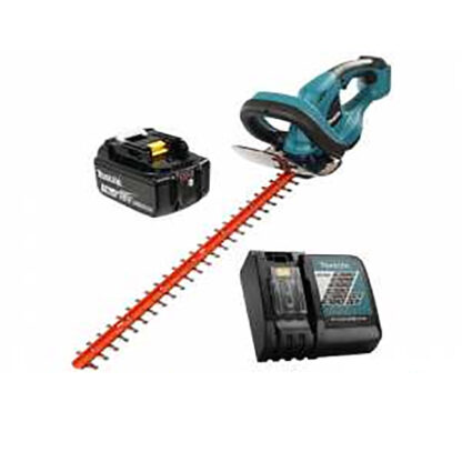 """Makita DUH523RT 18V LXT 22"""" Hedge Trimmer Kit with 5.0Ah Battery & Charger"""