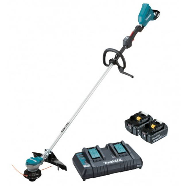 Makita DUR368LPT2 18Vx2 Brushless Loop Handle Line Trimmer Kit