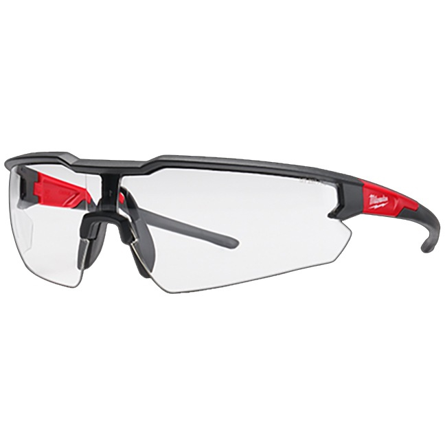 Milwaukee 48-73-2010 Safety Glasses - Clear Anti-Scratch Lenses