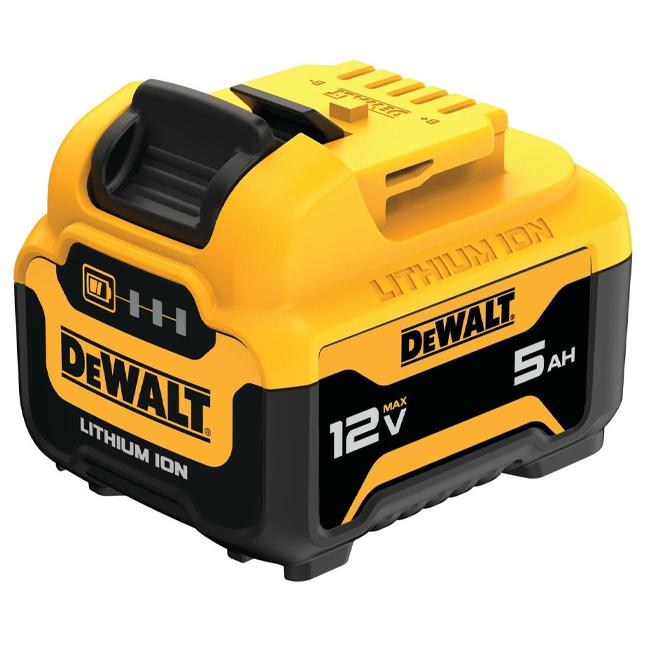 DeWalt DCB126 12V MAX 5.0Ah Lithium Ion Battery
