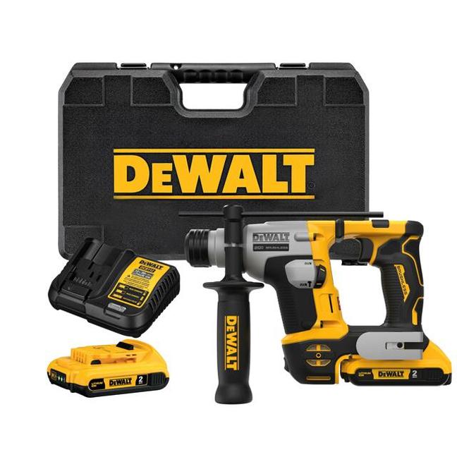 "DeWalt DCH172D2 ATOMIC 20V MAX 5/8"" Brushless SDS Plus Ultra Compact Rotary Hammer Kit"