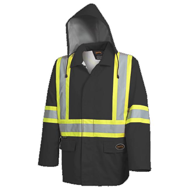 Pioneer 5628BK V1081370 The Rock Waterproof Safety Jacket - Black