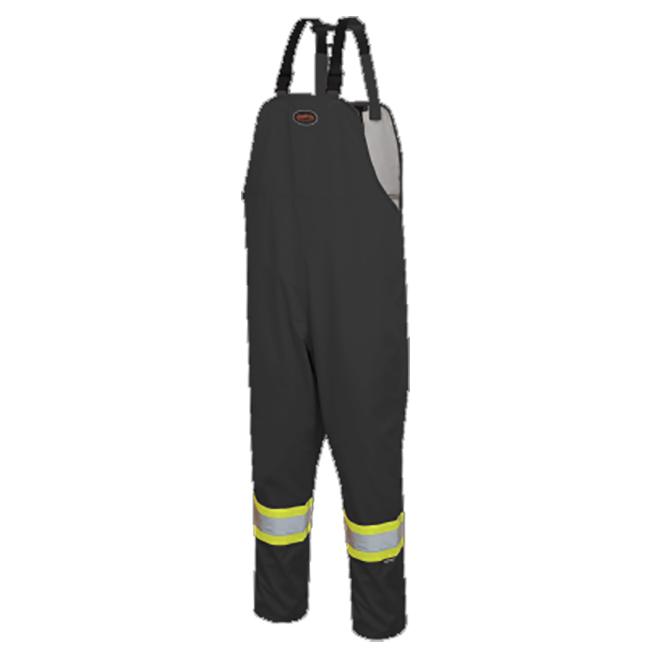 Pioneer 5629BK V1082370 The Rock Waterproof Safety Bib Pants - Black