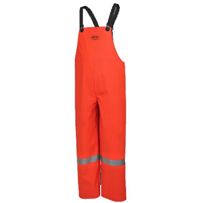 Pioneer 576P V3510960 Flame Resistant Waterproof Bib Pants Hi-Viz Orange