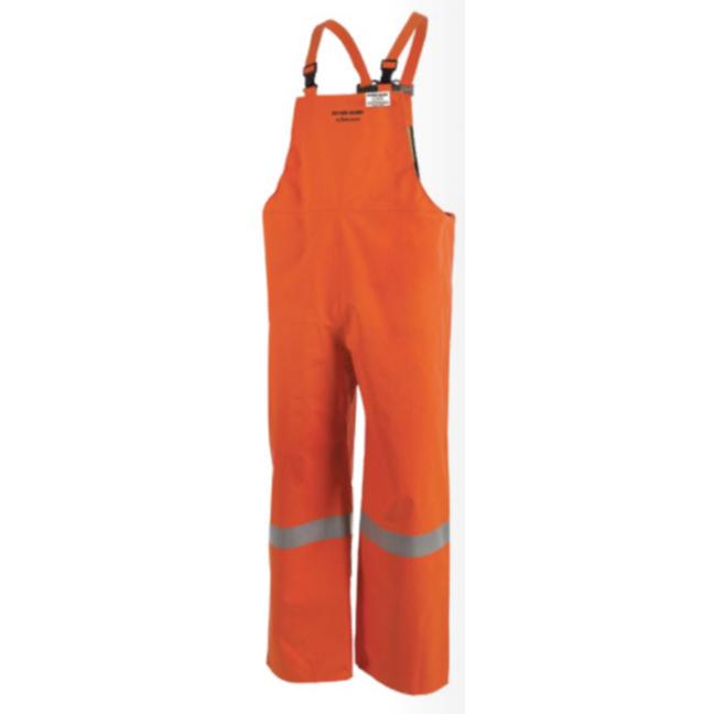 Pioneer P160 041 V2246750 Petro-Gard FR/ARC Rated Safety Bib Pants - Hi-Viz Orange