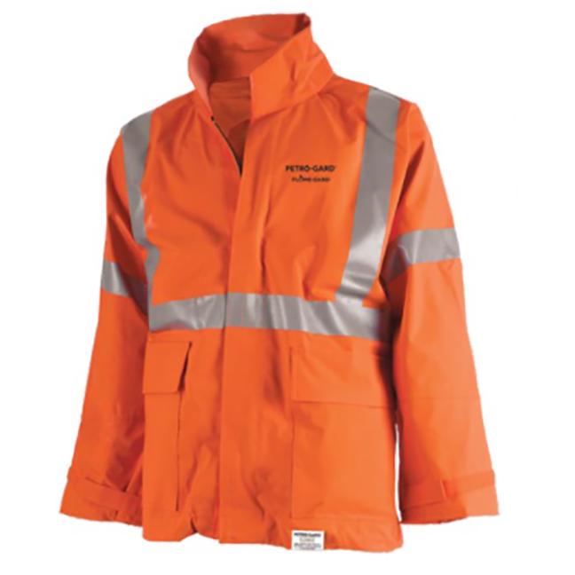 Pioneer J160 400A V2246450A Petro-Gard FR/ARC Rated Safety Jacket - Hi-Viz Orange