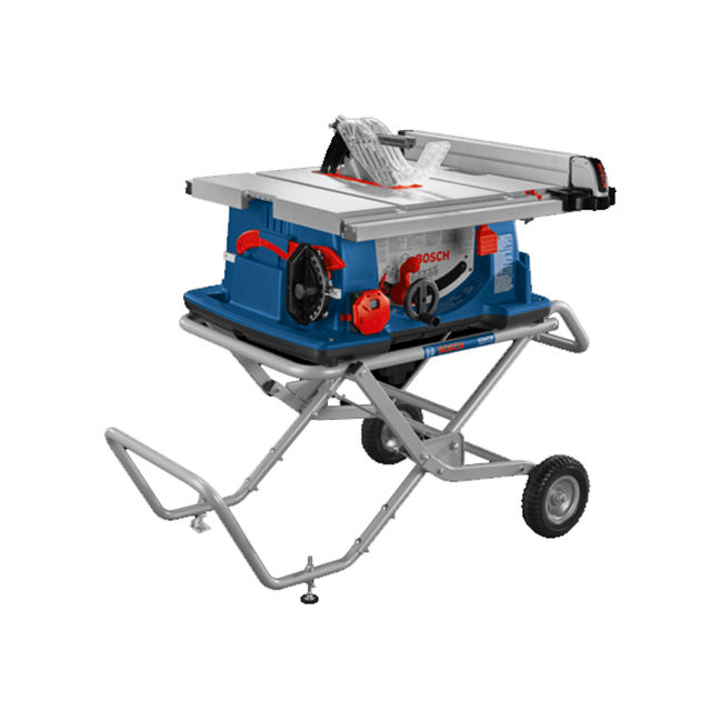 """Bosch 4100XC-10 10"""" Worksite Table Saw with Gravity-Rise Wheeled Stand"""