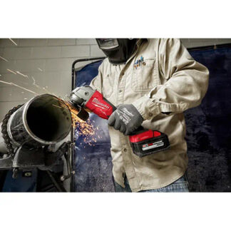 """Milwaukee 2882-20 M18 FUEL 4-1/2"""" / 5"""" Braking Grinder with ONE-KEY & Paddle Switch - tool only"""