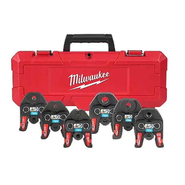 "Milwaukee 49-16-2661M 1/4"" to 7/8"" Streamline ACR Press Jaw Kit for M18 FORCE LOGIC Press Tools"
