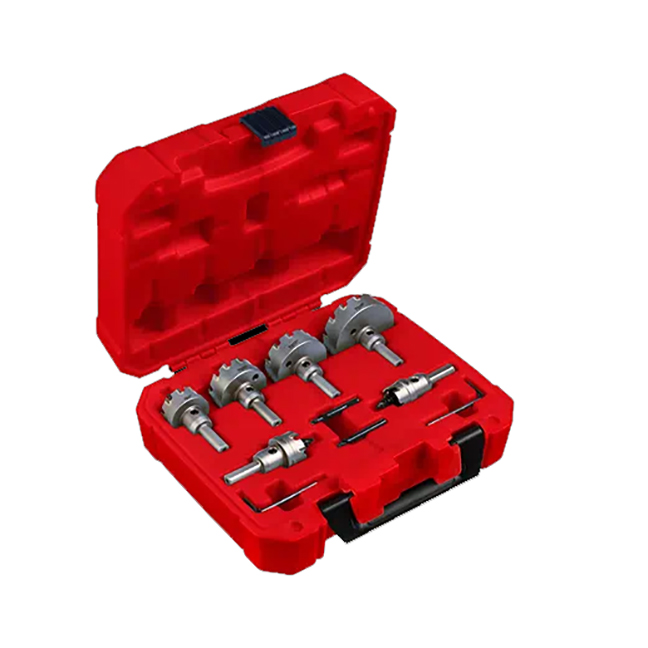 Milwaukee 49-22-8620 One-Piece Carbide Hole Cutter Kit 8-Piece