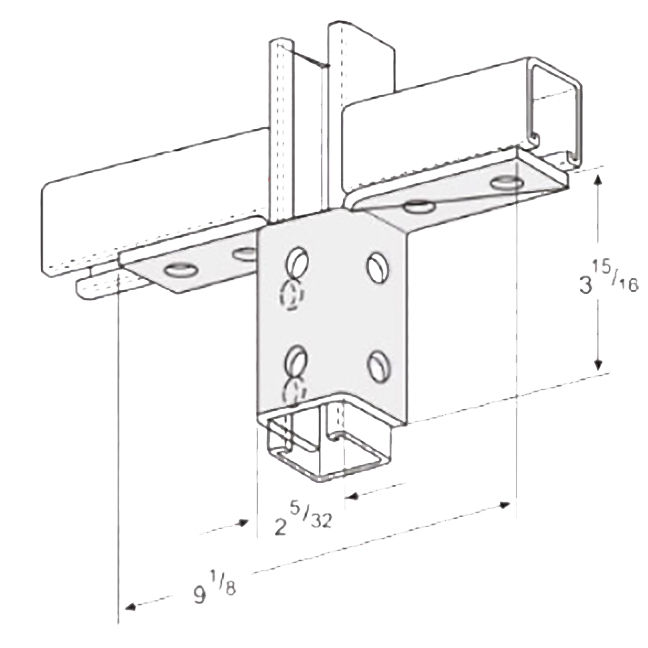 PeakSource S2423 10-Hole Double Wing Connection