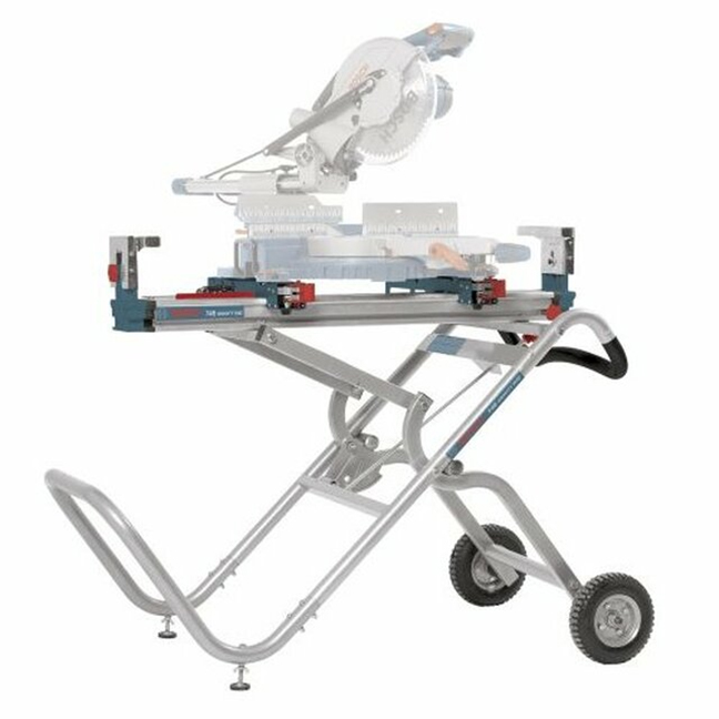Bosch T4B Gravity Rise Mitre Saw Stand with Wheels