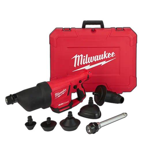 Milwaukee 2572B-20 M12 AIRSNAKE Drain Cleaning Air Gun - Tool Only