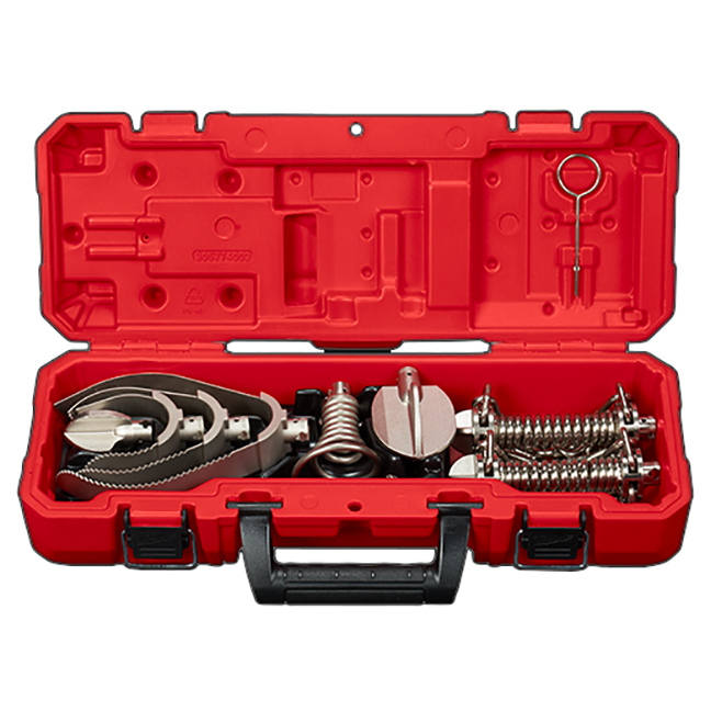 """Milwaukee 48-53-4840 Head Attachment Kit for 1-1/4"""" Sectional Cable"""