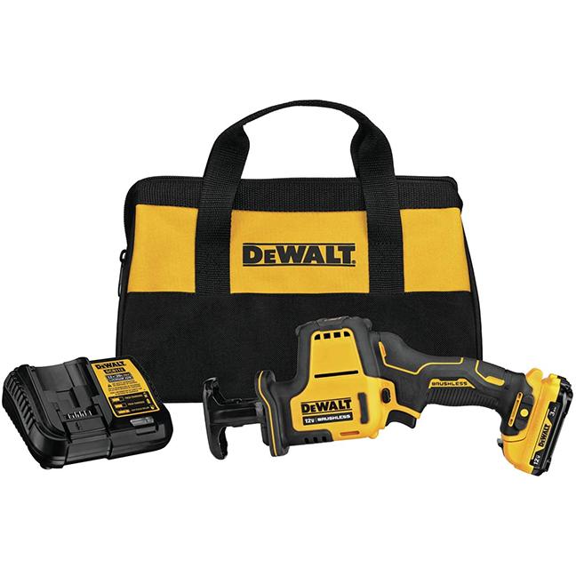 DeWalt DCS312G1 Xtreme 12V MAX One-Handed Reciprocating Saw Kit