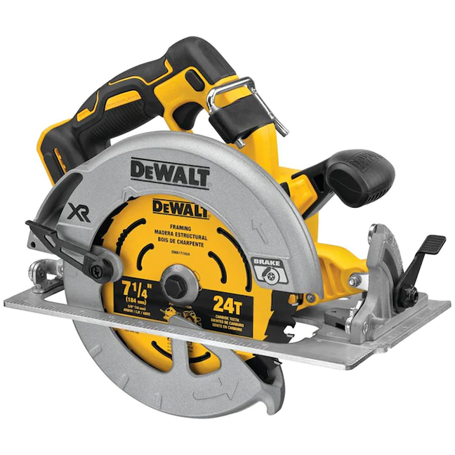 "DeWalt DCS574B 20V MAX XR Brushless 7-1/4"" Circular Saw with POWER DETECT"
